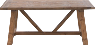 Parquetry Coffee Table - 60 x 120 Rect