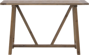 Parquetry Console Table - 40 x 140cm Rect