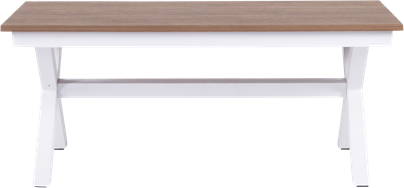 Peninsula Bench - Teak - 40 x 120 x 45cm H
