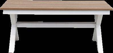 Peninsula Coffee Table - Teak - 60 x 120cm Rect