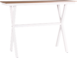 Peninsula Bar Table - Teak - 60 x 150cm Rect