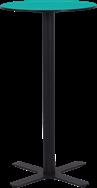 Black Plus Bar Table