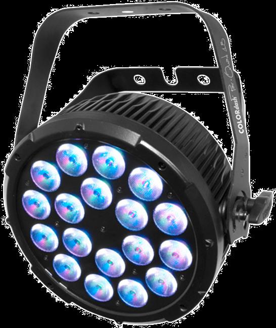 Quad Par 18 - LED RGBW