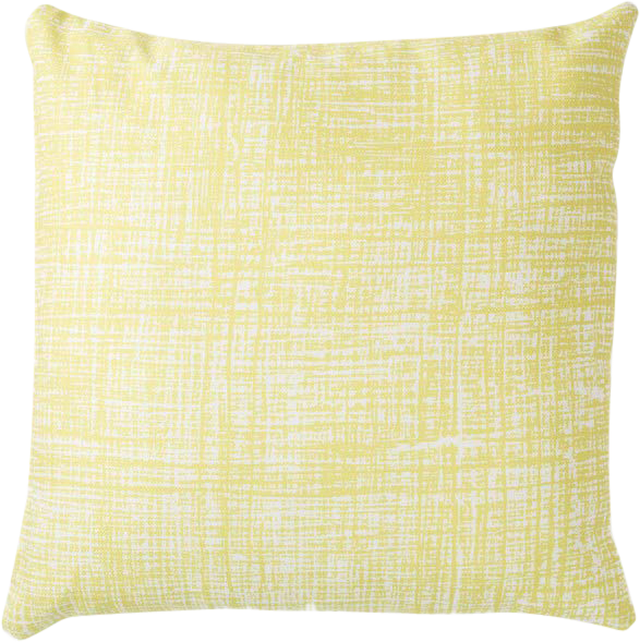 Hessian Cushion - Citrus - 50 x 50cm