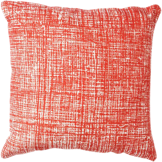 Hessian Cushion - Tomato - 50 x 50cm