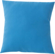 Poly Cushion - Electric Blue - 40 x 40cm