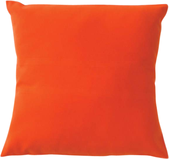 Poly Cushion - Orange - 40 x 40cm