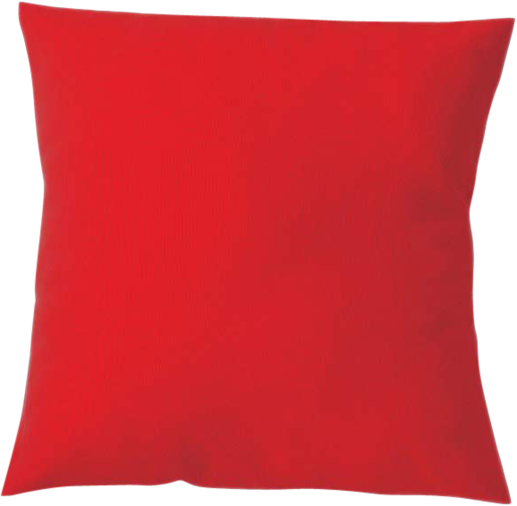 Poly Cushion - Red - 40 x 40cm