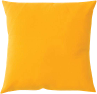 Poly Cushion - Yellow - 40 x 40cm