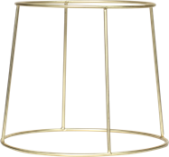 Plate Stand - Round Gold