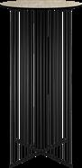 Black Rain Bar Table