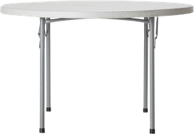Dining Table - Poly - 120cm Rnd