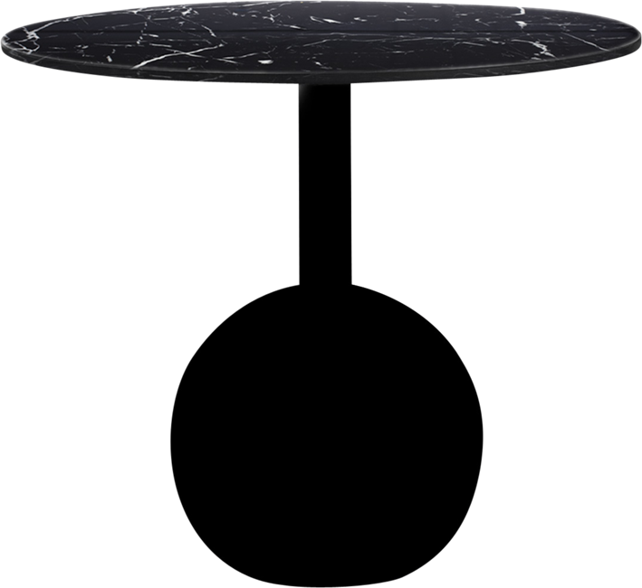 Black Shape Coffee Table