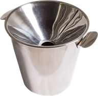 Spittoon - Stainless steel