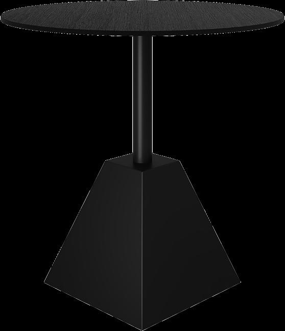Black Shape Cafe Table