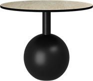 Black Shape Coffee Table