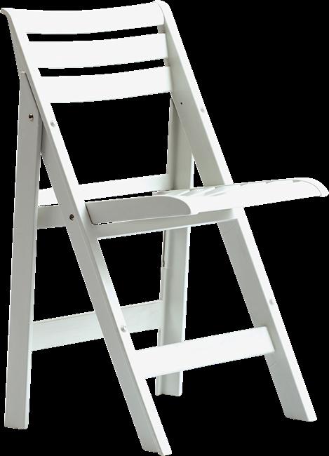 Sorrento Folding Chair - White