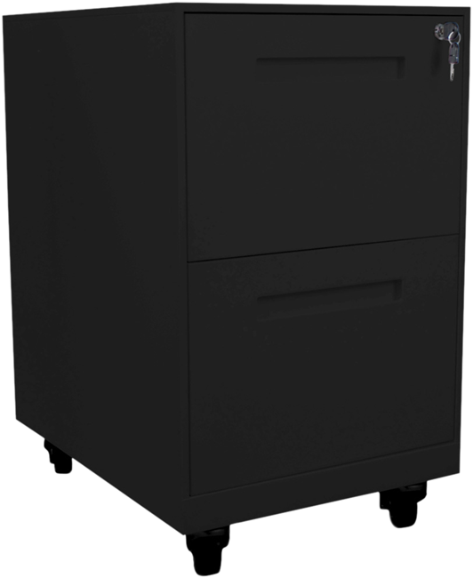 Space 2 Drawer Filing Cabinet