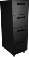 Space 4 Drawer Filing Cabinet