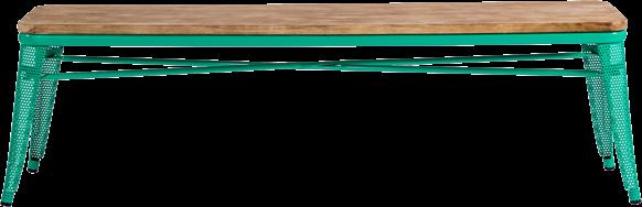 Tolix Timber Bench