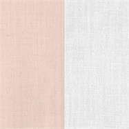 Natural Napkin - Two Tone - Blush/White