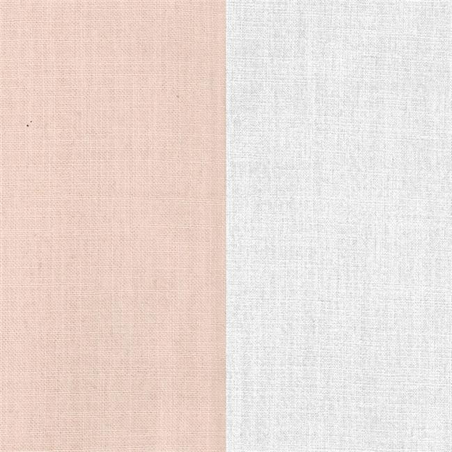 Natural Napkin - Two Tone - Blush/White