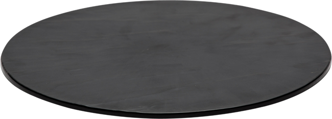 Taroko Platter Round - Black - 43cm