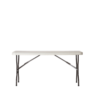 Trestle Table - Poly - 150 x 76cm Rect