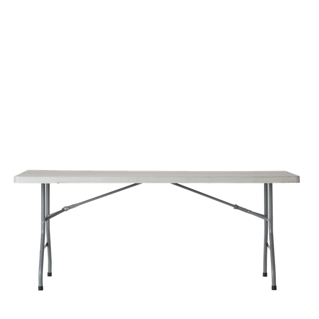 Trestle Table - Poly - 183 x 76cm Rect