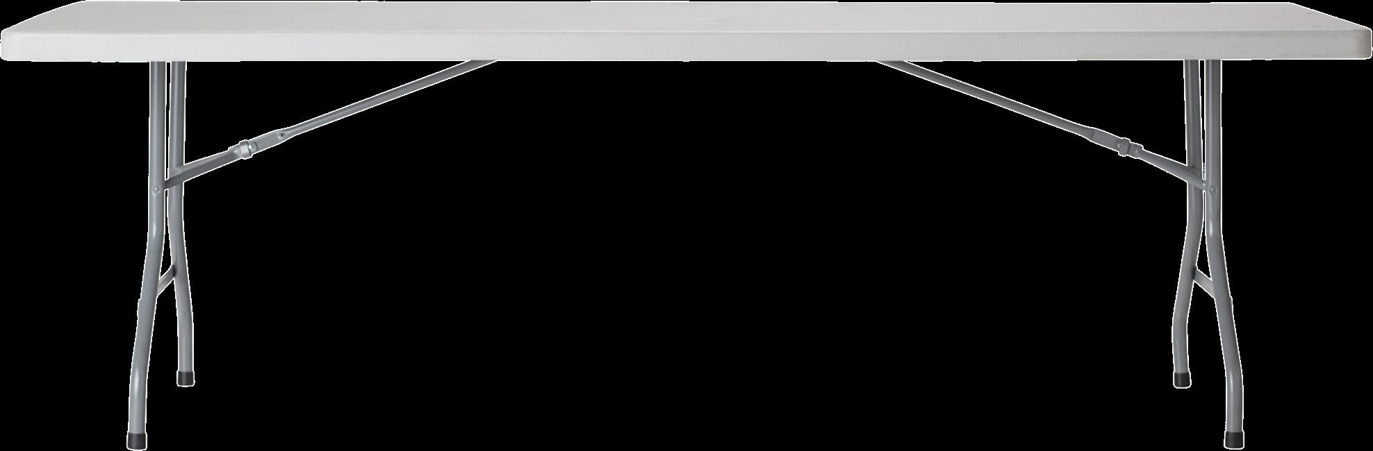 Trestle Table - Poly - 243 x 76cm Rect