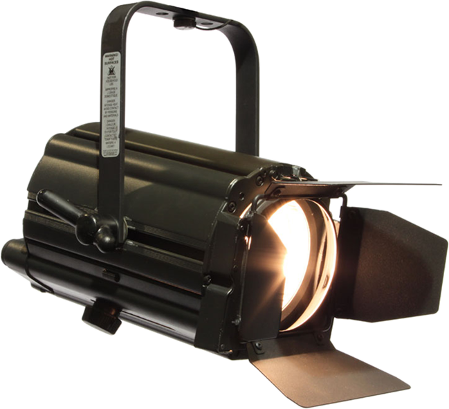 650w Fresnel  - Selecon  Acclaim - inc barndoors