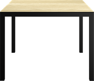 Black Westin Dining Table - Square