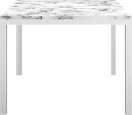 White Westin Dining Table - Square