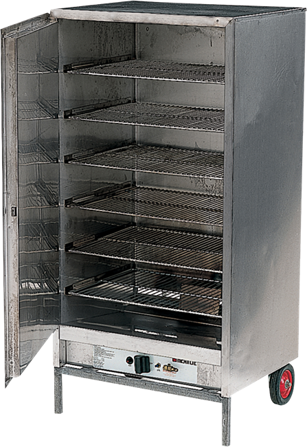 Warming Cabinet Gas - Stainless with Gas Bottle