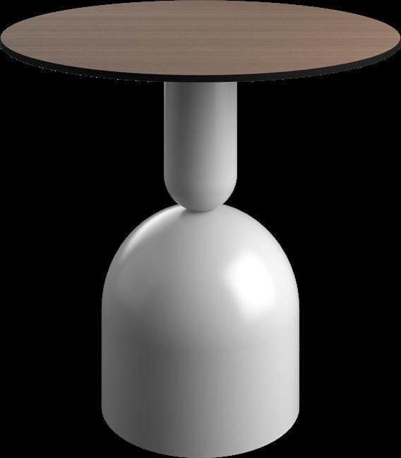 White Ava Cafe Table