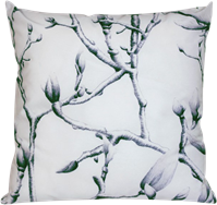 Burnley Grove Cushion - White - 50 x 50cm