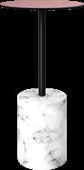 White Marble Bar Table