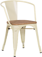 Tolix Timber Chair