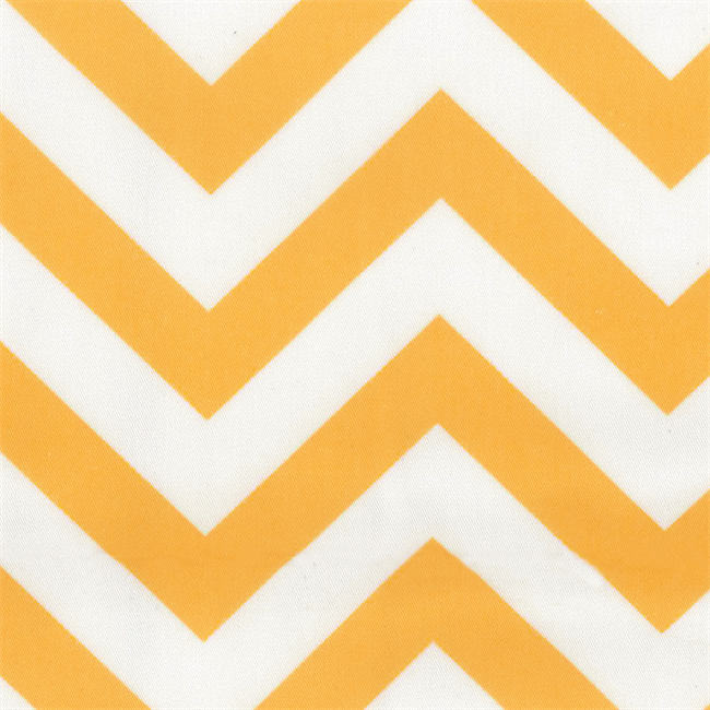 Chevron Napkin - Yellow/White