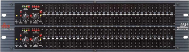 Graphic Equaliser: Dbx2231 Dual 31band