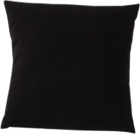 Poly Cushion - Black - 40 x 40cm