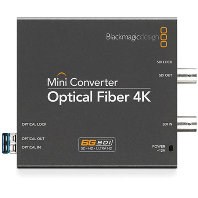 SDI - Fibre Convertor, Bi-Directional 4K Feed