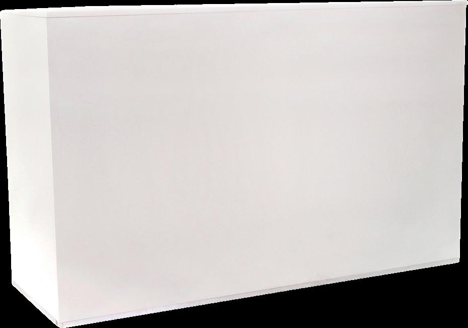 Service Bar - White - 60 x 178 x 110cm H