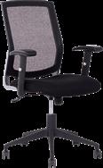 Ergo Management Chair - Mesh Back - Black