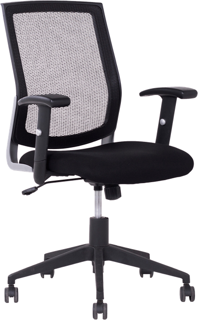Ergo Management Chair - Mesh Back - Black