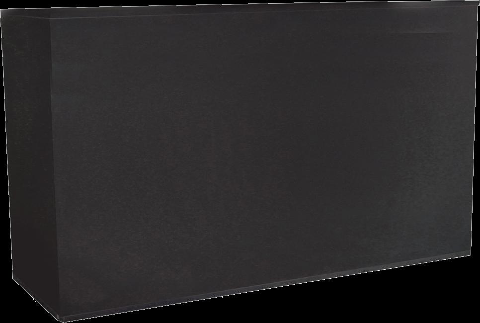 Service Bars  - Black - 60 x 178 x 110cm H