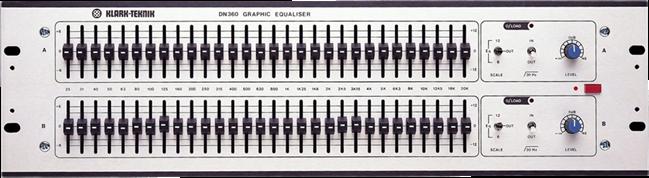 Klark Teknik Dn 360 Dual 30 Band Unit