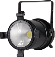 LED PAR - 50w Black Par / DMX