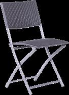 Reef Folding Chair - Silver