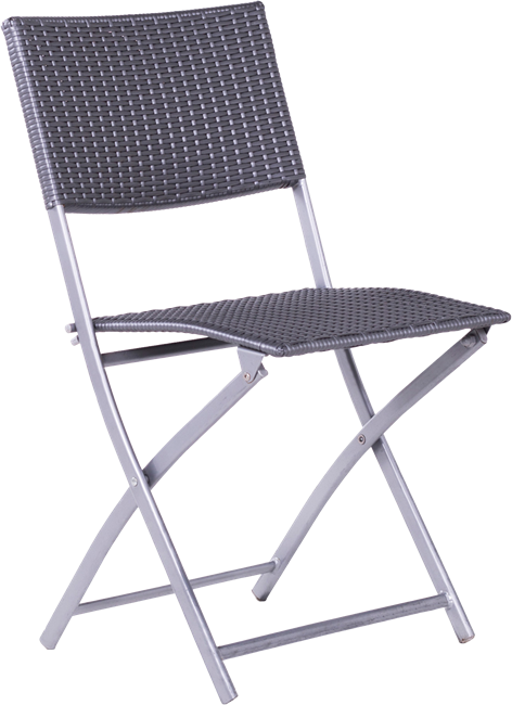 Reef Folding Chair - Silver